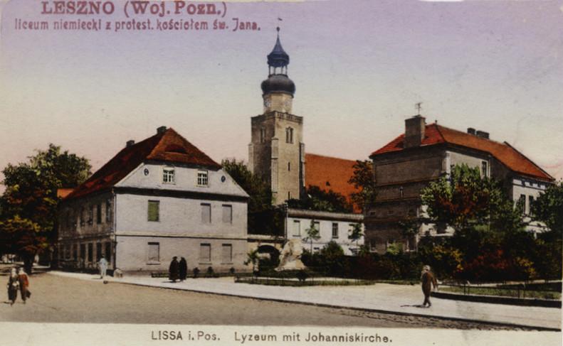 Liceum niemieckie z protestanckim kościołem św. Jana